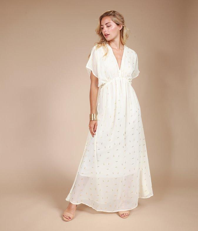 Robe longue ample