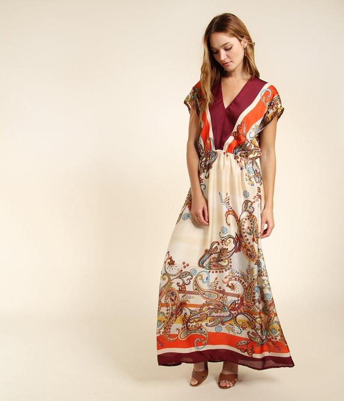 EGELEXY Robe longue d/ét/é pour femme Boho