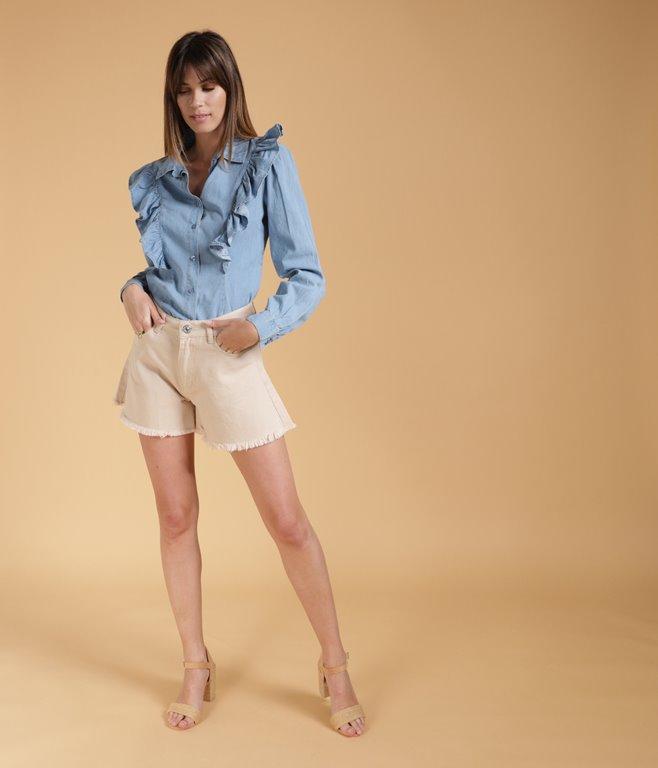 Short ample en Jean