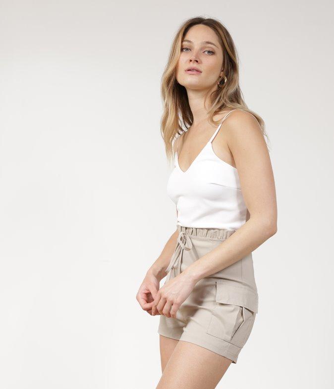 Combi-short bicolore Elinor