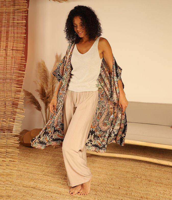 Pantalon large Linois