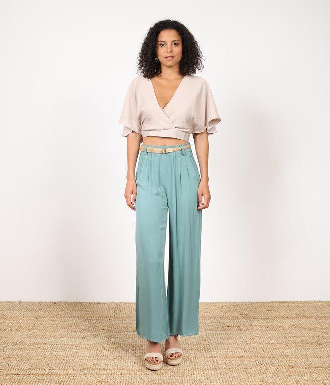 Pantalon Large Coralie
