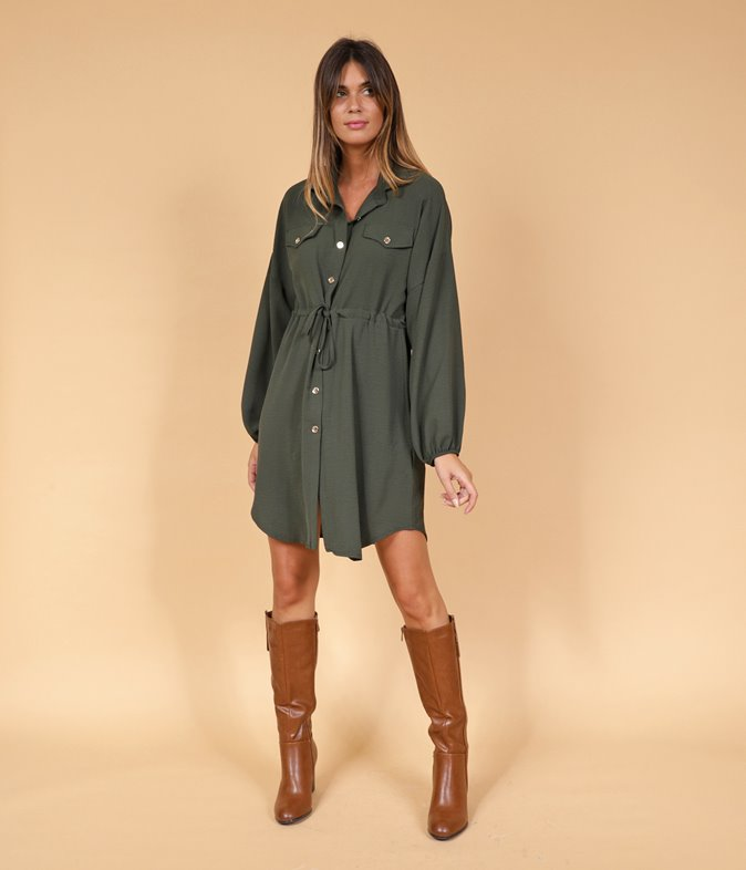 Robe style militaire