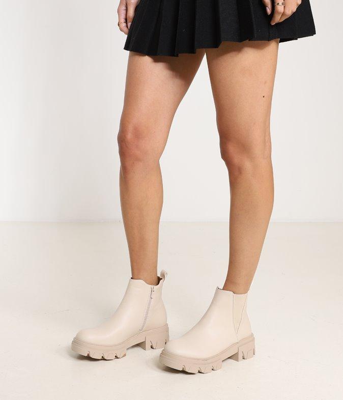 Boots basses chuncky