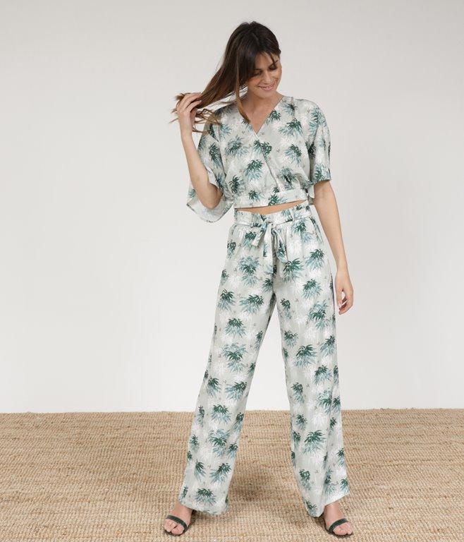 Pantalon large Jena